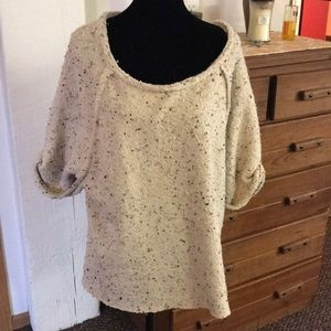 Free People short sleeve sweater